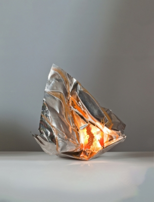 Le cose sono come sono - 2016 - 51x71x27 cm   Acciaio cristallo specchio con illuminazione led