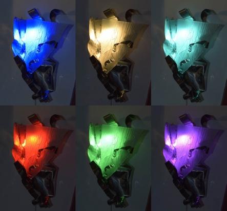 <b>Le pieghe</b> - 2018 -  variazione di colore.
