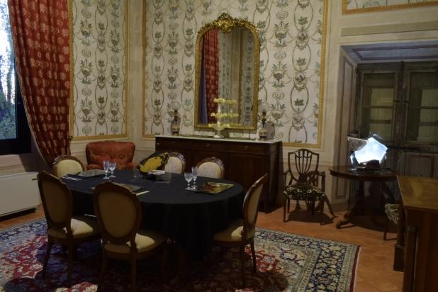 Ambientazione - opere immerse nell'arredamento di Villa De Moll