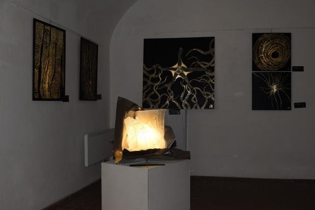 Una scultura luminosa inedita